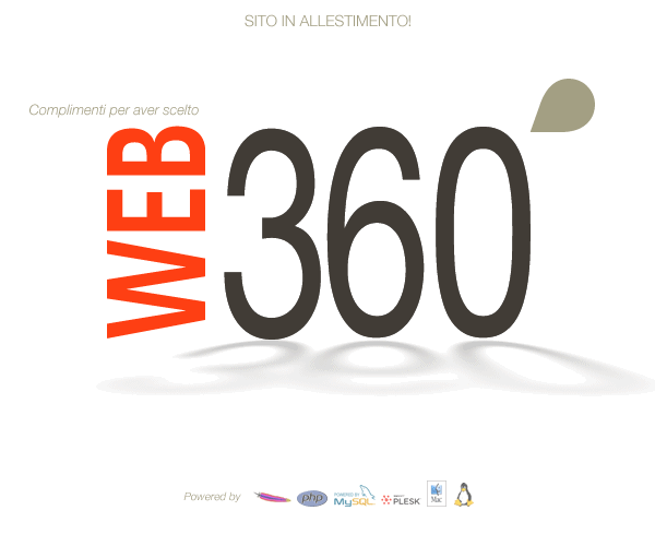 web360.it ::: dominio in allestimento